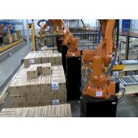 Wholesale Automatic Robot Palletizing System Machine , Robot Palletiser With ASI System from china suppliers