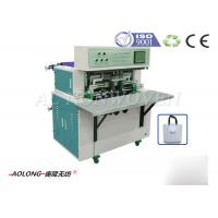 Wholesale Handle Bag Semi - Automatic Non Woven Bag Making Machine Width 350mm~500mm from china suppliers