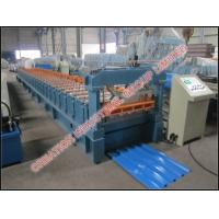 Buy cheap Galvanised / Prepainted IBR Iron Roof Sheet Making Machine Automatic Working Type from wholesalers