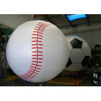 Wholesale Huge Inflatable Baseball Helium Balloons Custom Eco - Friendly 0.18mm PVC from china suppliers