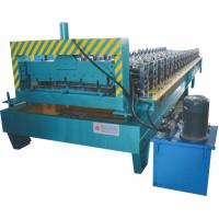 Wholesale Color Steel Glazed Tile Roll Forming Machine with PLC Control from china suppliers