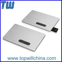 Wholesale Promotion Slip Credit Card USB 2.0 Flash Drive High Printing Quality Best Service from china suppliers