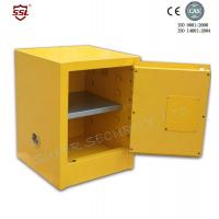 Wholesale Yellow Powder Coated Flammable Chemical Storage Cabinets For Laboratory , Bench Top from china suppliers