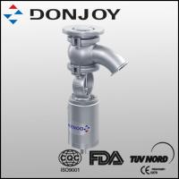 Wholesale SS304/316 DN40-DN100 Sanitary pneumatic elbow tank bottom valve from china suppliers