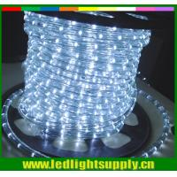 Wholesale bottom price outdoor decoration round 2 wire led rope lights from china suppliers