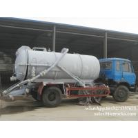 Wholesale vacuum tanker truck-6000L-10000L septik tank truck  sewage truck RHD /LHD App:8615271357675 from china suppliers