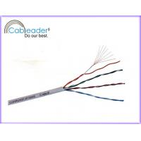 Wholesale 10 Gbps 4 pairs copper, HDPE insulation UTP Cat5e Network Cables pass FLUKE test from china suppliers