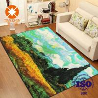 Wholesale Colorful Polyester Waterproof Beautiful Home Rug 50 * 80mm / 60 * 90mm / 120 * 150mm from china suppliers