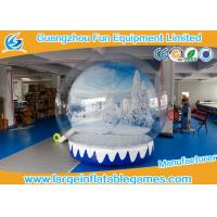 Wholesale 0.6mmPVC 3M Dia Inflatable Show Ball Inflatable Snow Globe For AD from china suppliers