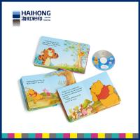 Wholesale Children funny photo board books printing with CD / DVD /C1S cardboard paper material from china suppliers
