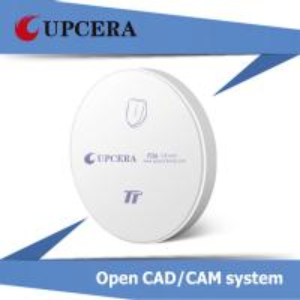 Wholesale TT White Dental Zirconia Blocks Pre Sintered Zirconial for Zirkonzahn CAD / CAM System from china suppliers