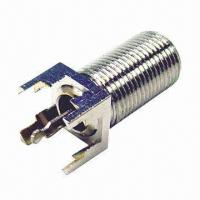Wholesale RF Connector with Two-way Radio Accessories, Available in MMCX or MCX Types from china suppliers