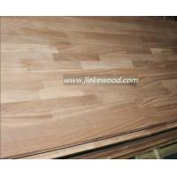 Buy cheap Sapele solid wood panel finger jionted panels countertops table tops butcher block tops kitchen tops from wholesalers