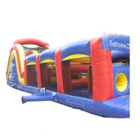 Wholesale America Style Inflatable Obstacles 0.55mm PVC For Extreme Game Training from china suppliers