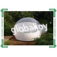 Wholesale Camping Clear Inflatable Lawn Tent Transparent Dome Tent Water Retardant from china suppliers