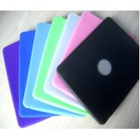 Quality Design Smart Durable Purple / Green colorful Ipad Silicone Skin Case cover for sale