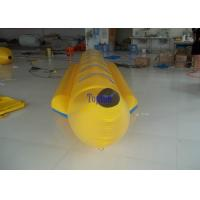 Wholesale Yellow Inflatable Flying Fish Boats , Exciting Adults Aqua Surfing Boat from china suppliers