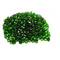 Wholesale Green Russian Chrome Diopside Gemstones Round For Fashion Jewelry from china suppliers