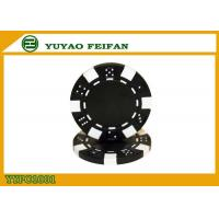 Wholesale Home Game 2 Blocks Dice Poker Chips ABS Poker Chips 11.5g Customized Color from china suppliers