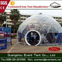 Wholesale Bigger Camping Tent With Toughened Glass Door , Canopy Party Tent Diameter 4m To 80m from china suppliers