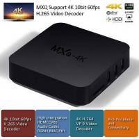 Quality Great Quality MXQ-4K RK3229 1+8G ,Android TV Box Android 5.1, KODI, DLNA, Google Play Store for sale