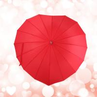 Wholesale Fashion High Quality Heart Shaped Wedding Umbrella for Hot Sale from china suppliers