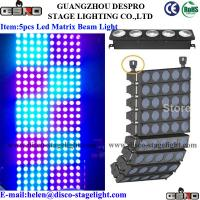 Wholesale Warm White LED Matrix Light Nightclub Dimmable DMX Stage Beam Light from china suppliers