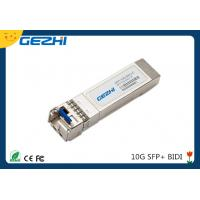 Wholesale 10G date rate SFP BIDI TX1270nm / RX1330nm 20km Simplex LC connector from china suppliers