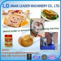 Wholesale colloid mill for bean/sesame/peanut butter making machine from china suppliers