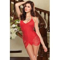 Wholesale Adorably Draped Lingerie Sexy Lingerie Costumes Red / Black for Girl Women from china suppliers