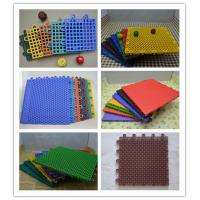 Wholesale Outdoor Interlocking Sports Flooring Purple , Swimming Pool Carpet from china suppliers