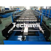 Wholesale Roofing Wall Panel Cold Roll Forming Machine For Forming Thickness 0.3-0.8mm , 18 Stations Roller Stands from china suppliers