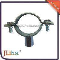 Wholesale M8+10 Nut Cast Iron Pipe Clamps For Pipe Connection , Pipe Clamp Bracket from china suppliers