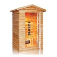 Wholesale 3person outdoor infrared sauna cabin from china suppliers