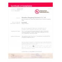 SZZT Electronics Co., Ltd Certifications