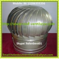 Wholesale no power roof turbo ventilator for warehouse Aluminum from china suppliers