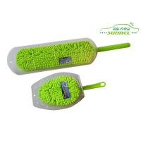 Wholesale Custom Changeable Head Chenille Car Washing Brush with PP handle from china suppliers