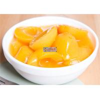 Wholesale Fresh Peeled Organic Canned Fruit Apricot In Syrup ISO Certification from china suppliers