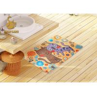 Wholesale 3d Printing Kids Floor Rugs With Non-slip Backing / Childrens Bedroom Mats from china suppliers