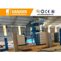 Wholesale Lightweight precast concrete wall panels construction material machinery from china suppliers