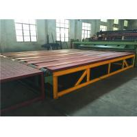 Buy cheap Hexagonal Wire Mesh Gabion Production Line Reno Mattress Machine With CE Certificate from wholesalers