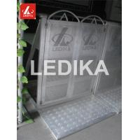 Buy cheap Explosion Proof Fence 6082 T6 Folding Crowd Control Stands Customized Color from wholesalers