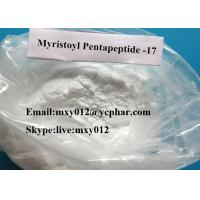 Wholesale Lyophilized Powder Peptides Myristoyl Pentapeptide -17 For Fortify Hair Cosmetic Eyelash Growth from china suppliers