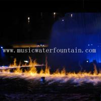 Wholesale Fire Mix Water Fountain 20M For Outdoor / Indoor 16000 Lumens Panasonic Projector from china suppliers