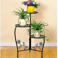 Wholesale Beautiful Decorative Outdoor Furniture Metal Flower Rack / Flower Hanger Stand from china suppliers