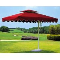 Wholesale Red Huge Polyester 170T 190T Outdoor Patio Umbrellas For Coffee Shop / Lakeside from china suppliers