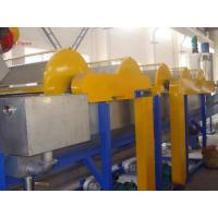 Wholesale PVC plastic bottle recycle machine / PET recycling machine high speed from china suppliers