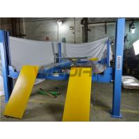 Buy cheap 220v / 380v Alignment 4 Post Car Lifts With Rolling Jack , CE Approval from wholesalers