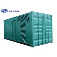 Wholesale Quiet 1100kVA Cummins Diesel Generator Fuel Consumption Low Noise from china suppliers