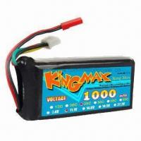 Wholesale 11.1V 25C Li-Poly Battery with 1,000mAh Capacity from china suppliers